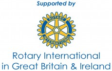 Supported By Rotary