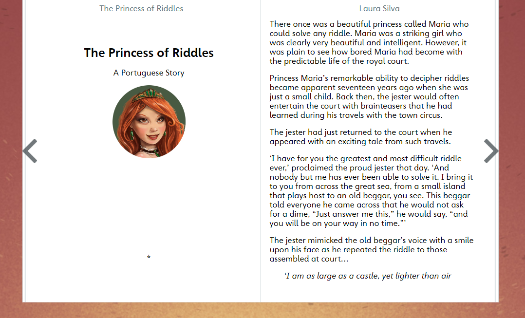 World Stories Wednesday: The Princess of Riddles - KidsOut