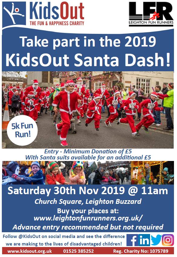 updated Santa dash poster