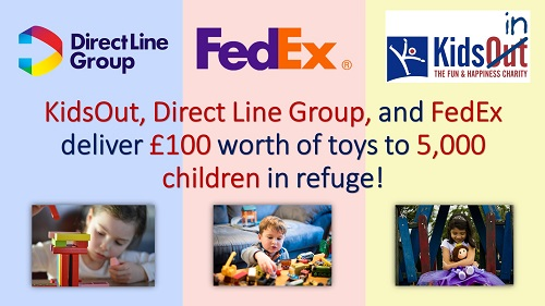 Toy Box Direct Line FedEx